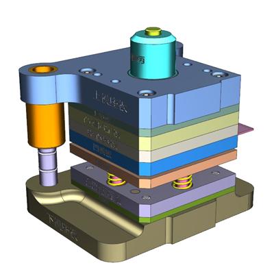 钣金加工厂家-复合模工程图片