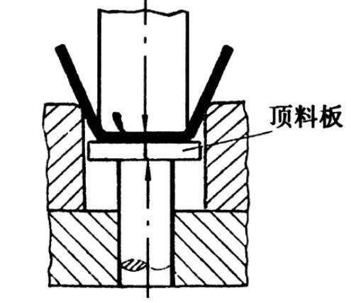 石岩五金冲压件加工厂-带有顶料板的冲压模具