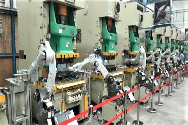 自动化冲压线-五金冲压件钣金加工厂