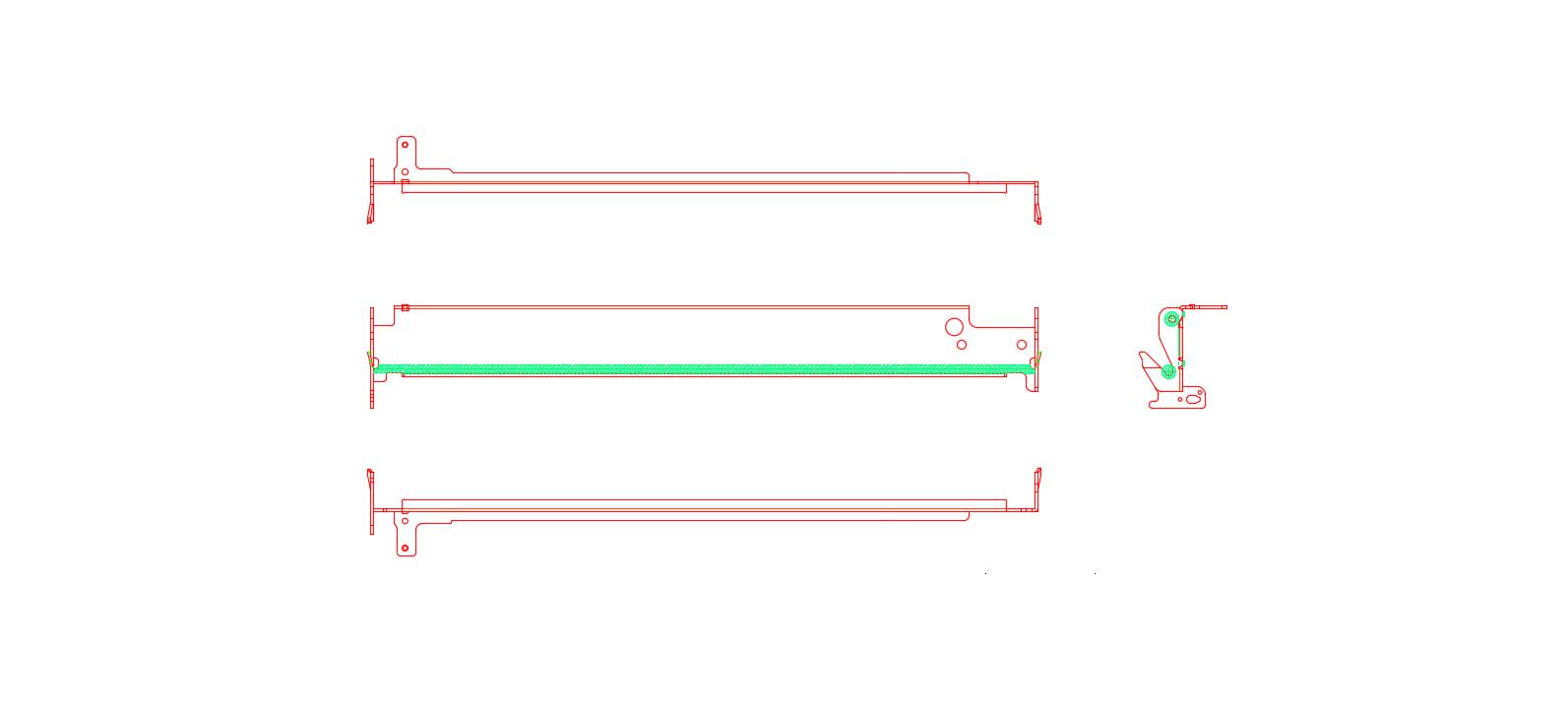 不锈钢五金冲压件2D图纸
