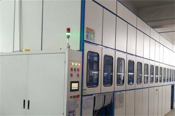 槽式全自动超声波清洗机-深圳五金公司