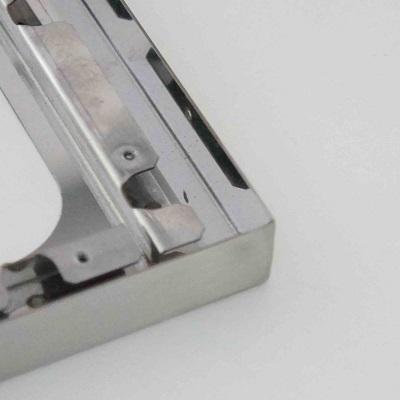 不锈钢钣金件右下角细节